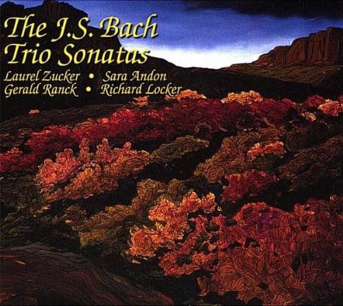 The JS Bach Trio Sonatas. Zucker, Andon, Ranck and Locker-min